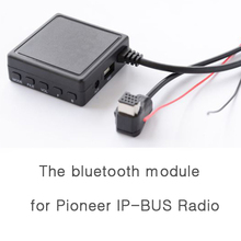 Car 5.0 AUX USB Music Adapter  for Pioneer Radio IP-BUS P99 P01 Wireless Audio Cable Microphone Adapter цена 2017