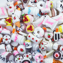Fruits and Vegetables Kitchen Toys 10pcs Miniature Mini Food Sweet Candy Cake  Toy for Doll Children Kids Kitchen Girls Toys E