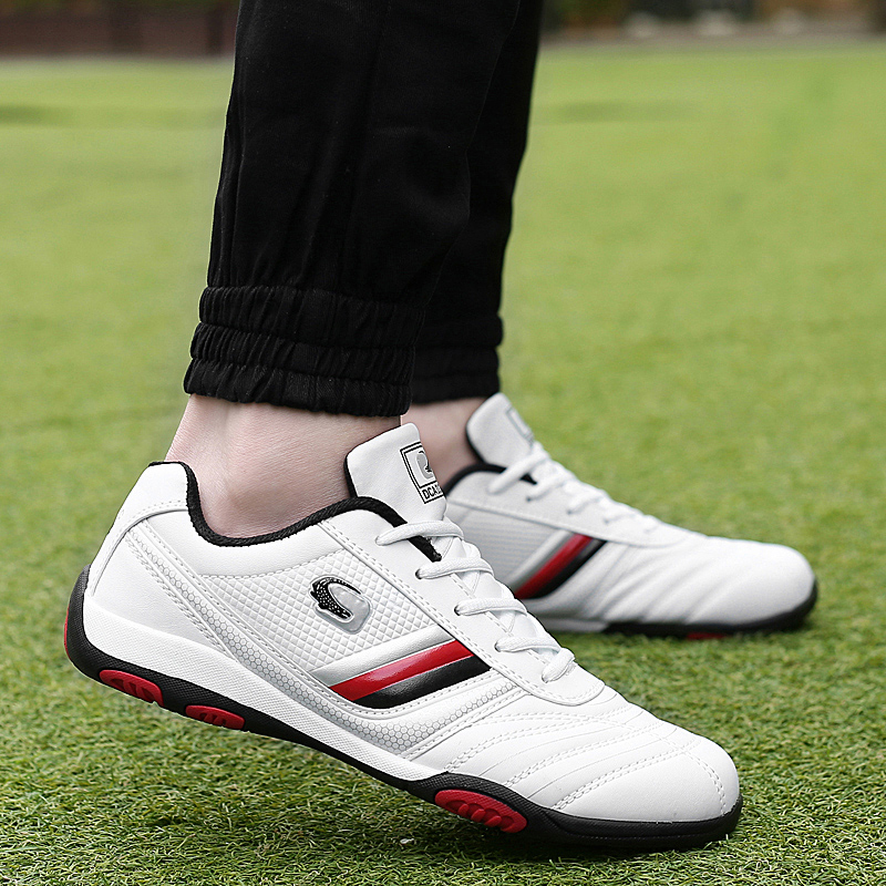 Professional Golf Shoes Spikeless Mens Womens Comfort Golf Sneakers Man Training Course Sports Shoes Boys Athletic Walking Shoes
