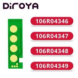 106R04346 106R04347 106R04348 106R04349 chip de cartucho de tóner para Xerox Phaser B210 B210DNI WorkCentre B205 B215 B205NI B215DNI
