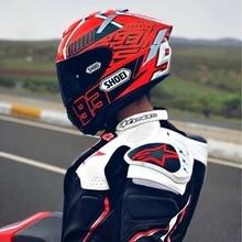 Full Face X14 93 marquez-мотоциклетный шлем для мотокросса, мотоциклетный шлем(реплика-шлем