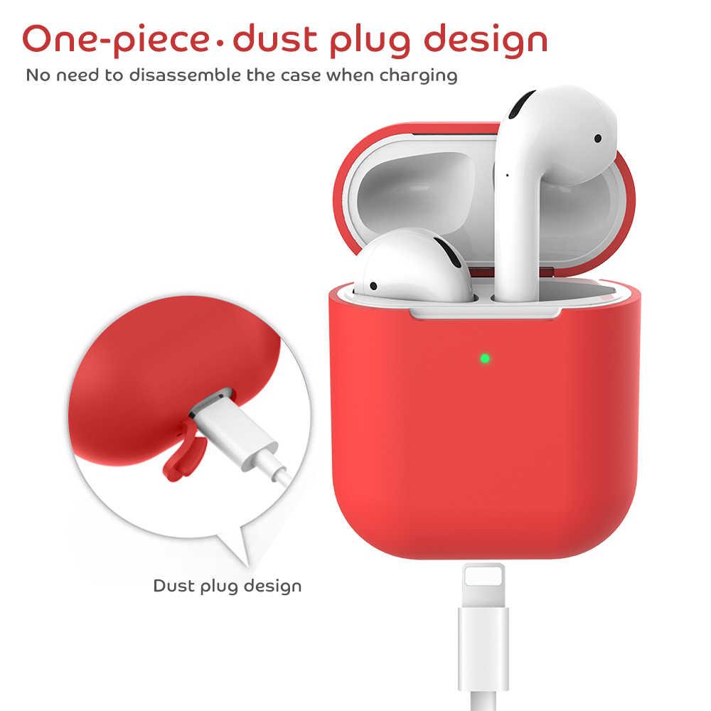 2020 nuovo Trasduttore Auricolare per il Caso di Apple Airpods 2 Aria Baccelli 2 Tws I11 I12 I9s Silicone Della Copertura Senza Fili di Bluetooth Auricolare custodie