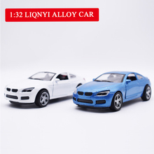 1:32 Simulation Mini Car Model Alloy Toy Door Force Control Ornaments Souvenir Gift Toys for Children
