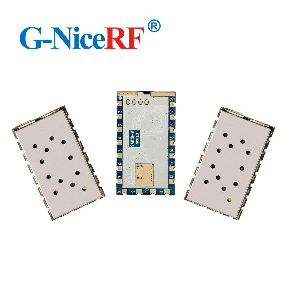 4pcs 1W 5km Distance 134MHz To 174MHz SA818-V Vhf Transmitter Module