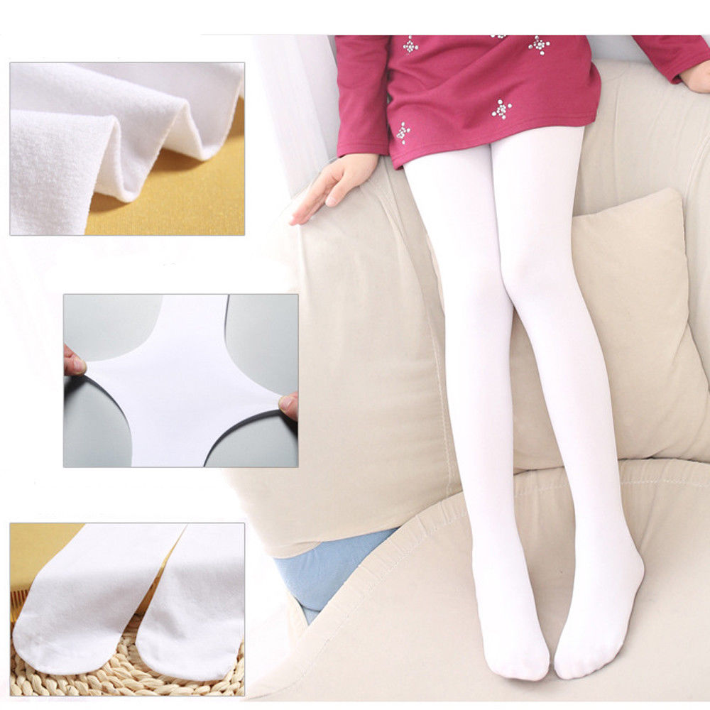 Autumn Winter Kids Baby Girls Dance Tights Soft Pantyhose Hosiery Ballet Opaque Candy 9 Colors Stretchable Stockings
