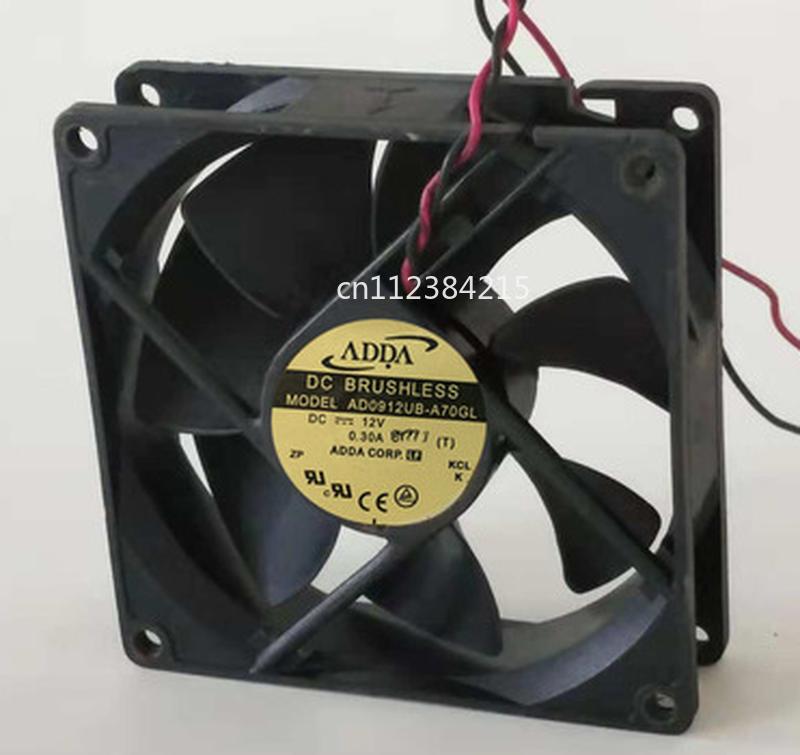 Free Shipping AD0912UB-A70GL 9225 12V 9CM Cooling Fan