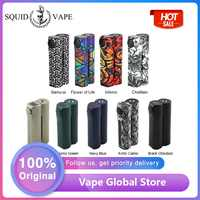 NEW Original Squid Industries Double Barrel V3 150W VW MOD Fat Top Design E-cig Mod with OLED Display VS Drag 2 / LUXE Mod