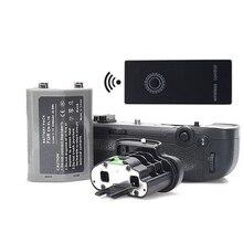 MB-D18 сменный батарейный блок+ 2,4G беспроводной пульт дистанционного управления+ EN-EL18 аккумулятор+ чехол для BL-5 для цифровых зеркальных фотокамер Nikon D850