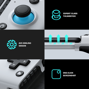 GameSir X2 Mobile Gamepad Gaming Controller for Xbox Game Pass, PlayStation Now, STADIA, GeForce Now, Cloud Gaming [All series] 6