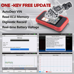 Image 3 - LAUNCH escáner para coche X431 CRP123E OBD2, motor OBD OBDII, ABS, Airbag, SRS, herramientas de diagnóstico de transmisión, actualización gratuita en línea, PK CRP123X