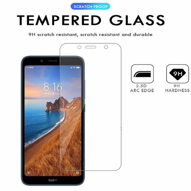 2-3Pcs Kaca Pelindung Di Redmi 7a Pelindung Layar untuk Xiaomi Redmi 7a Kaca Tempered Xiomi Readmi7a Redmi7 7 A A7 Keselamatan Film
