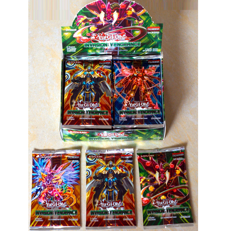 Japan Anime Yu Gi Oh Deck English Card 24 216 Fight Board Game Yugioh Duel Cards Table Toys Collections Kids Christmas Gifts image