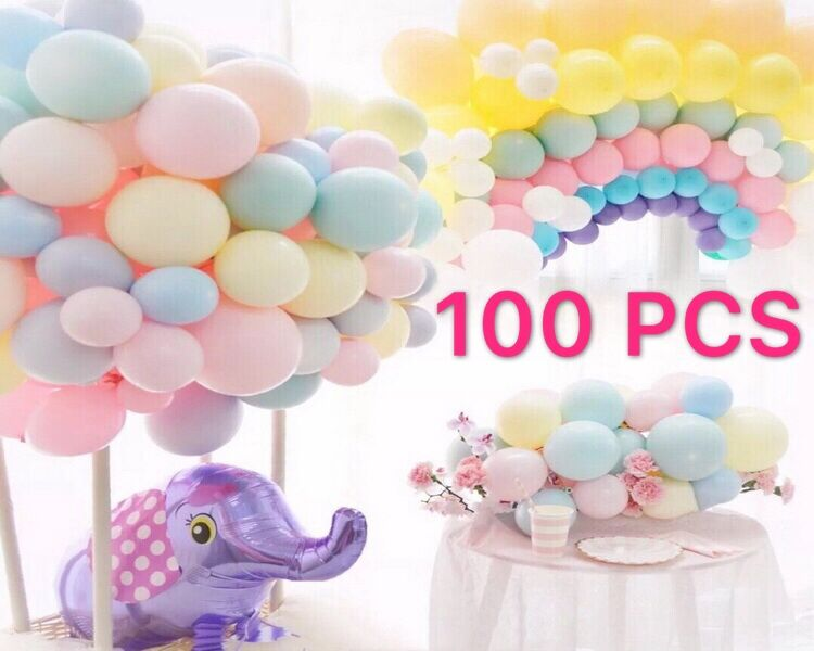 10 inch Macaron Latex balloons Baby Shower Girl Birthday Party Helium Balloon New Wedding Birthday Decoration Globos