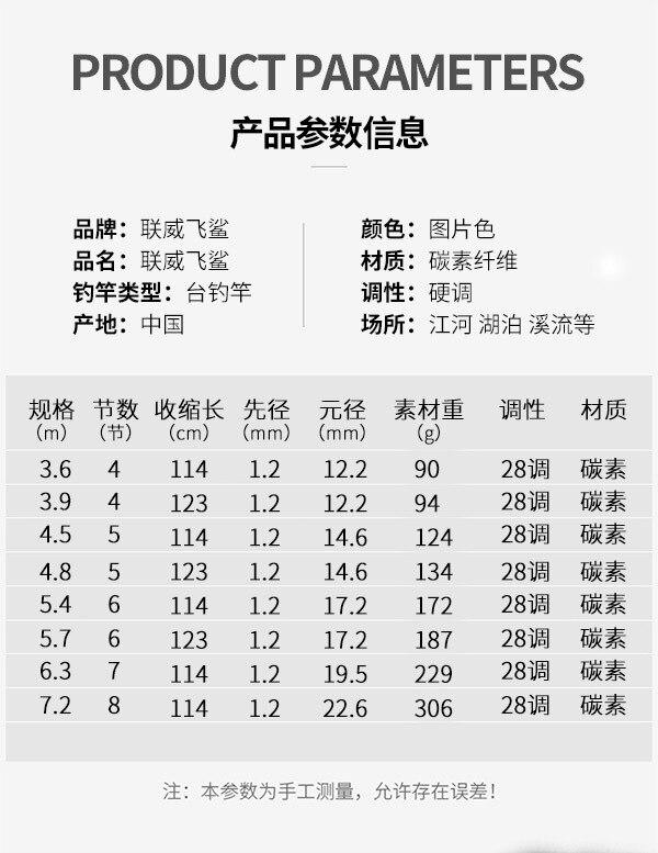 Vara de pesca de carbono taiwan vara