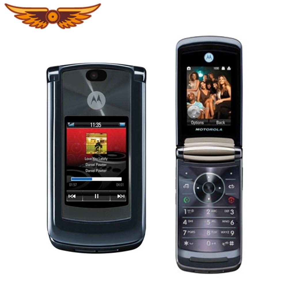 V8 Unlocked Motorola RAZR2 V8 Gsm 2MP Camera 512Mb/2Gb Rom Mobiel 100% Originele Bluetooth Flip Mobiele telefoon
