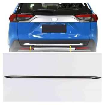 Lsrtw2017 for Toyota Rav4 Car Tailgate Strip Trims Decorative Interior Accessories Mouldings 2019 2020
