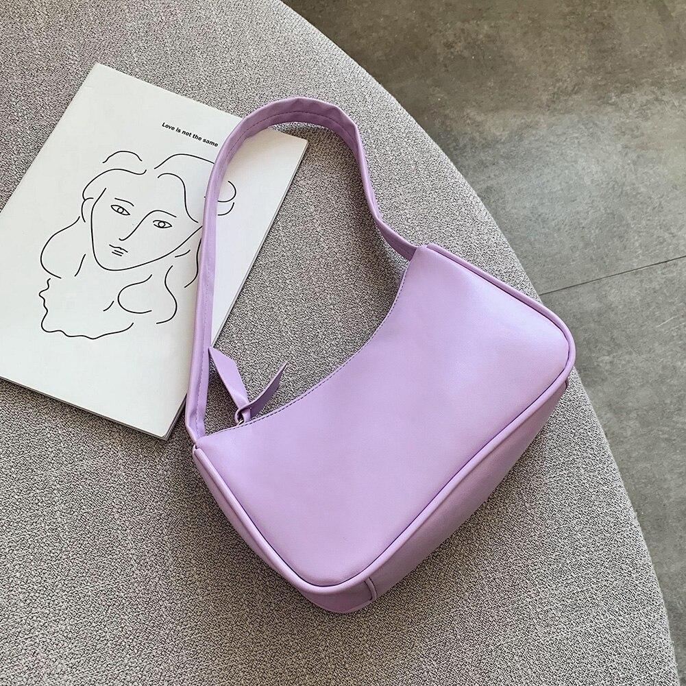Fashion Handbags Women Bag 2020 Vintage Handbag Soft Leather Female Small Subaxillary Bags Casual Retro Mini Shoulder Bag