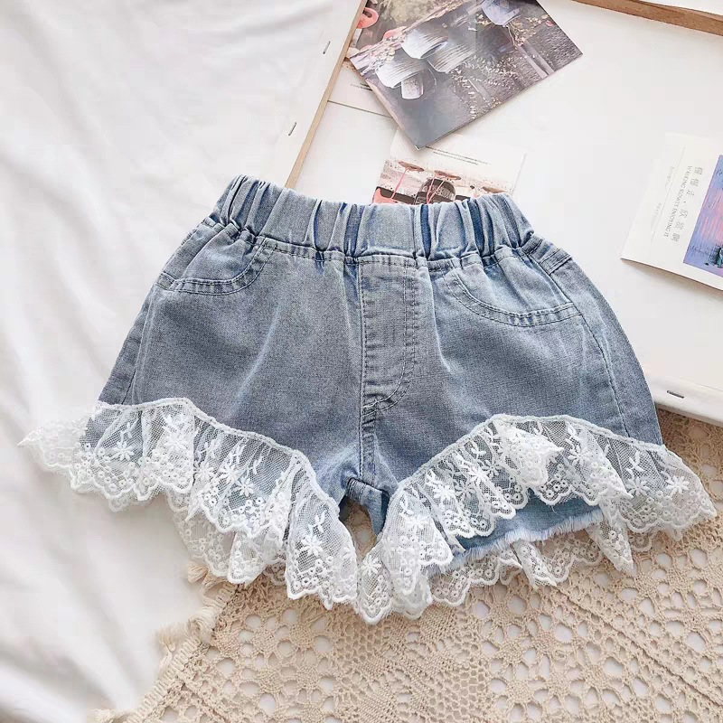 Hffbf9b76357e4fc1b4fc4c45fe5635f47 Melario Kids Girls Clothing Sets Summer Baby Girls Clothes T-Shirt and Jeans Shorts Suit 2Pcs Children Clothes Suits