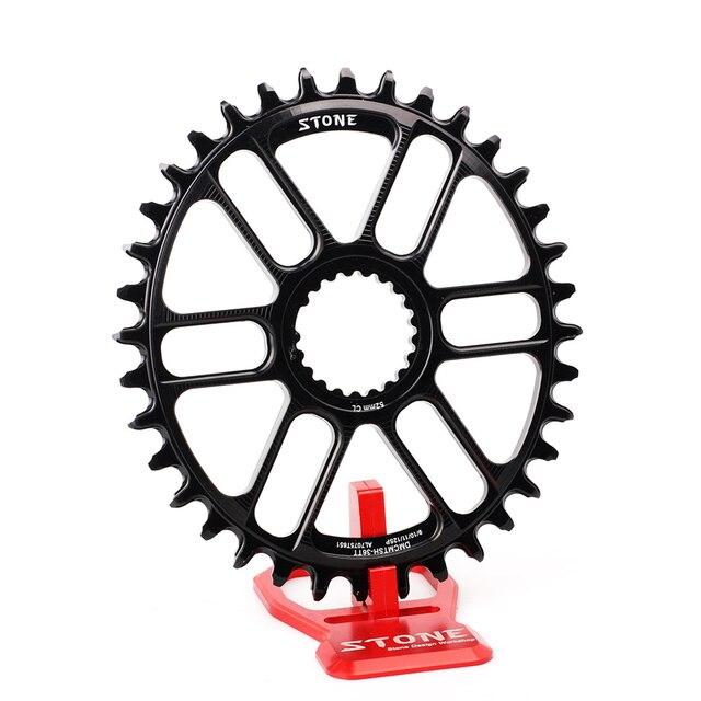 Plato ovalado para bicicleta de piedra, soporte directo para M9100, M8100, M7100, refuerzo de Dientes anchos estrecho, 30T 40T, 12 velocidades
