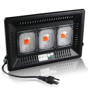 LED Grow Light AC 220V 300W COB Full Spectrum Grow LED Light I67 Waterproof Outdoor Light Fixture COB LED Plants Growth Light