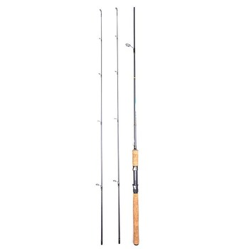 2020 New ML M Power Solid 2 Tip 2.1m Spinning Fishing Rod 5-20g/3-15g Lure Weight Fast Action Carbon Rod Lure Fishing Rod fast 1 8m 2 1m 2 4m 2 7m carbon spinning casting m power telescopic fishing rod lure rod 7 28g 12 25lb travel trout rod