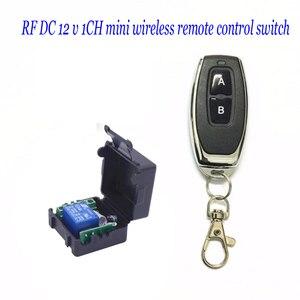 Image 1 - DC 12 v 1CH ミニワイヤレスリモートコントロールスイッチ