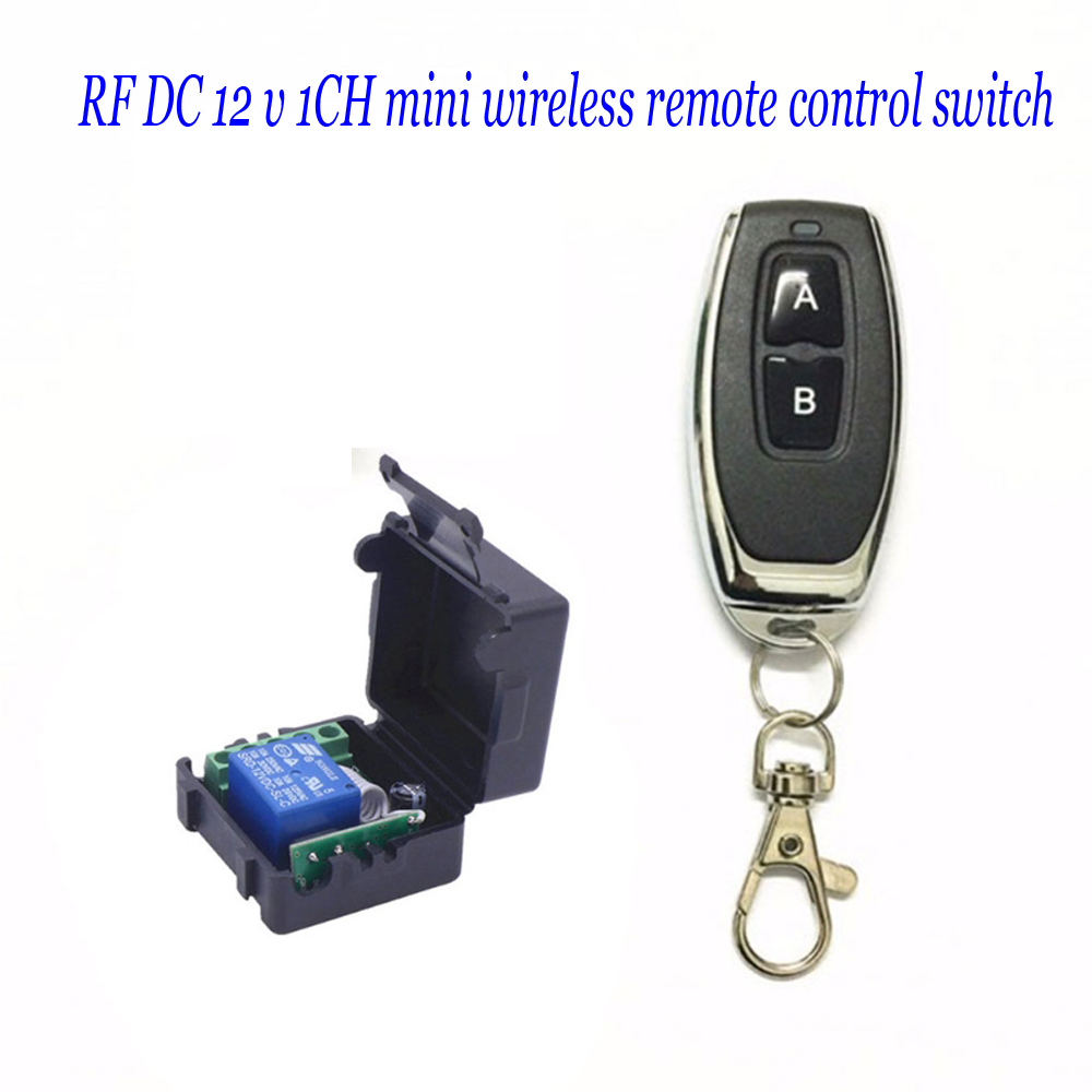 DC 12 v <font><b>1CH</b></font> mini wireless remote control switch image