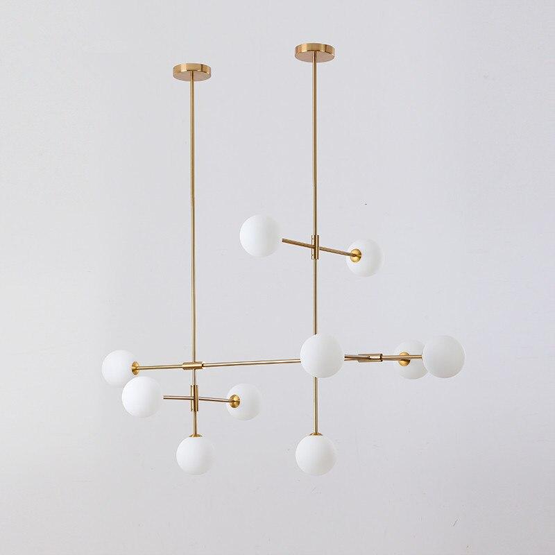 Nordic Modern Pendant Lights Designer Glass Pedant Lamps Art Decoration Light Fixtures For Bar Dining Room Dropshopping