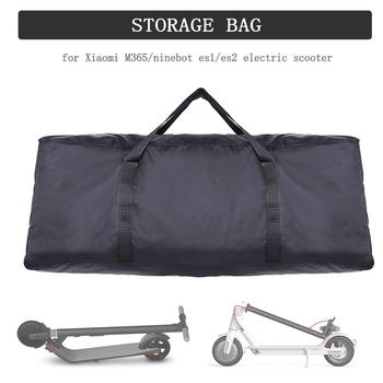 Black Waterproof Storage Bag For For Xiaomi M365 / For Ninebot ES1/ES2 Electric Scooter Foldable Skateboard Zipper Storage Case