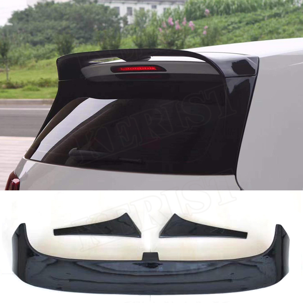 ABS golf7 MK7 Trunk Roof Spoiler for Volkswagen <font><b>VW</b></font> <font><b>Golf</b></font> <font><b>7</b></font> <font><b>Gti</b></font> R Club Sport Style 2014-2018 image