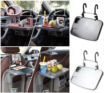 Przenośny do samochodu biurko Laptop stół uchwyt na kawę uniwersalny samochód jeść pracy napój Seat taca deska akcesoria samochodowe tanie i dobre opinie CN (pochodzenie) 14inch półki 9 3inch