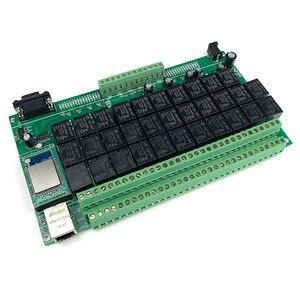 Image 2 - Kincony Domotica Hogar WiFi przekaźnik IP automatyczny moduł dla inteligentnego domu kontroler 32 przełącznik sterujący kanał 6CH czujnik alarmu bezpieczeństwa