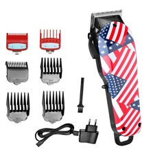 Professional barber hair clipper adjustable pro hair trimmer for men electric cutter hair cutting machine haircut salon tool kemei barber powerful hair clipper led professional hair trimmer for men electric cutter hair cutting machine haircut salon tool