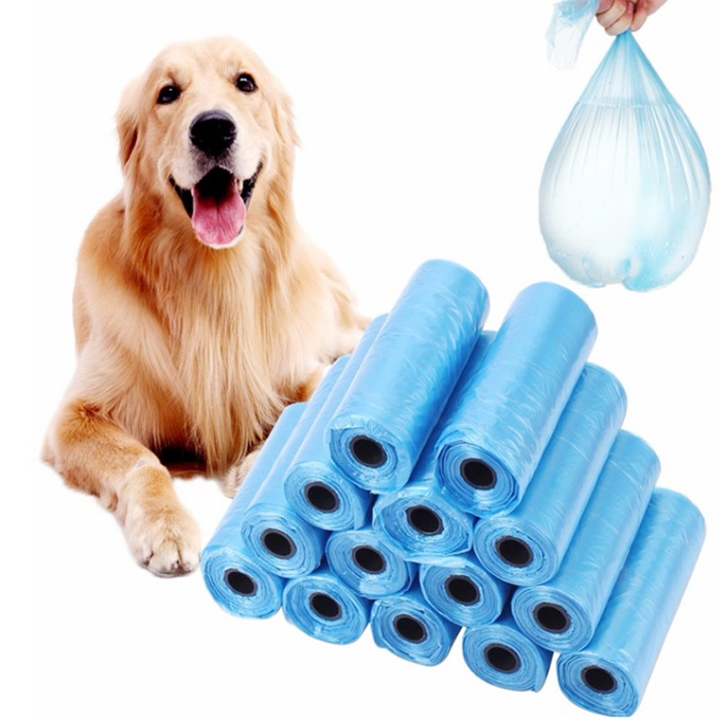 20 Rolls 300pcs Pet Supplies Garbage Bags Pooper Bags Dog Pets  Pick Up Cleaning Up Garbage Bag Degradable With Garbage Bag