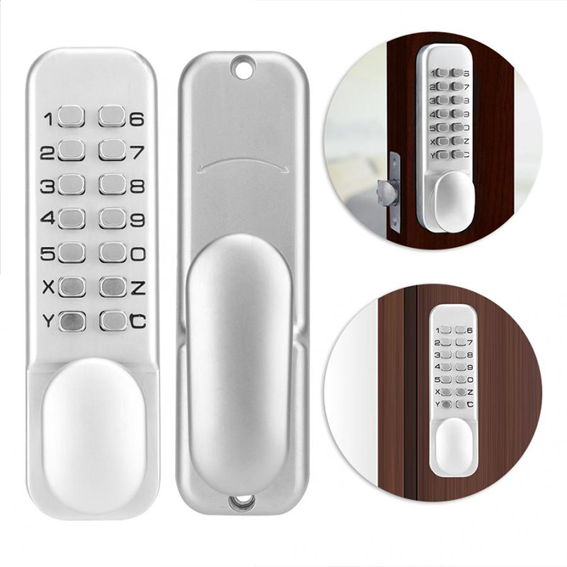 Waterproof Keyless Door Lock Combination Password Fireproof Keypad Door Lock for Home Office MAGT Keyless Door Lock