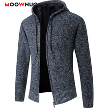 Coat Cardigan Sweaters Spring Long-Sleeves Male Thick Striped Men's Fashion Autumn Slim