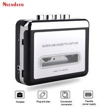 EZCAP220 odtwarzacz kasetowy kaseta na MP3 konwerter przechwytywanie odtwarzacz muzyki Audio konwertuj kasetę na taśmę na PC Laptop przez USB