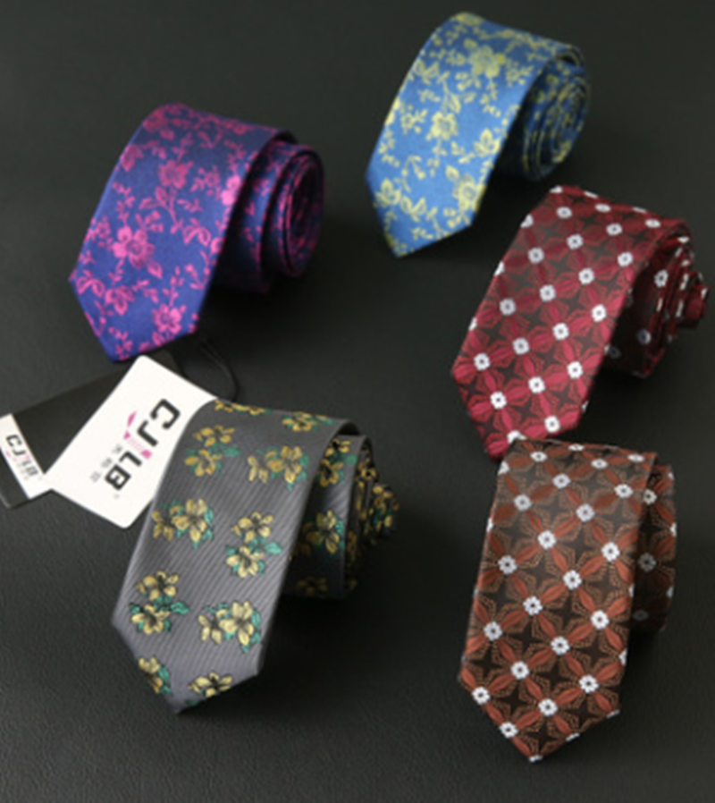 New Style Men Ties 6cm Business Narrow Version Noeud Papillon Homme European And American Foreign Trade Casual Tie