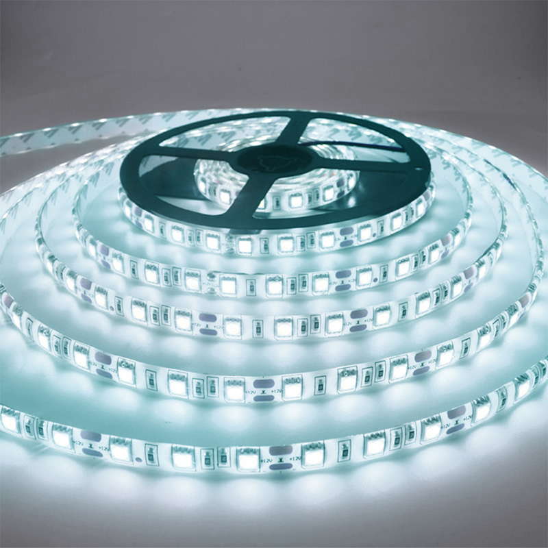 5M 300 <font><b>LED</b></font> Strip Light Non <font><b>Waterproof</b></font> DC12V Ribbon Tape Brighter SMD3528 Cold White/Warm White/Ice Blue/Red/Green/blue image