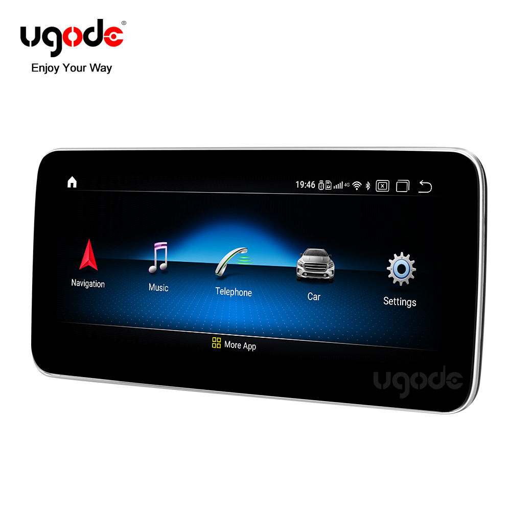 Qualcomm 2016-2017G Android 10,0 Auto GPS Navigation Screen Multimedia-System Musik Video Player Mercedes-Benz G ntg 4,5 5,0 5,1