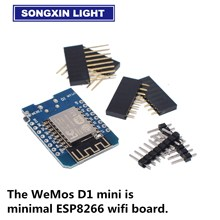 Based Things-Development-Board Esp8266 Wemos WIFI Internet Mini-Mini 100pcs 4M Bytes