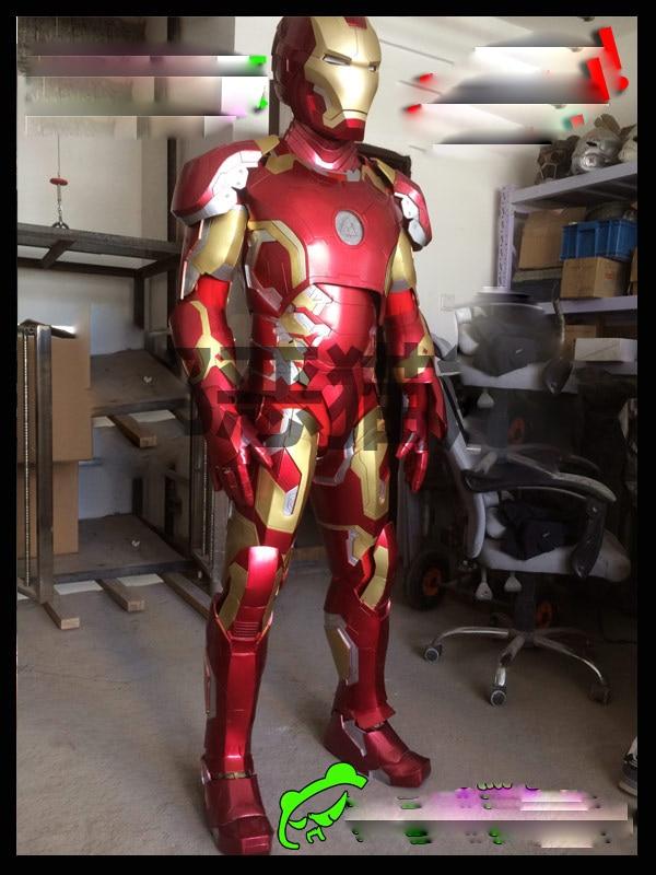EVA Version Bar Party Props  Avengers Iron Man Mark 43 Wearable COS Armor Body Custom