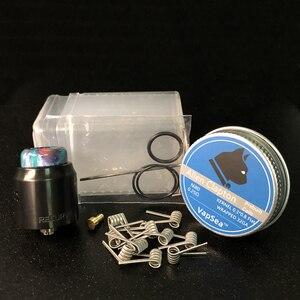 Image 5 - RELOAD X Stil Recurve RDA Zerstäuber 24mm holt Drop Tropf Tank mit squonk BF PIN für 510 S Elektronische zigarette