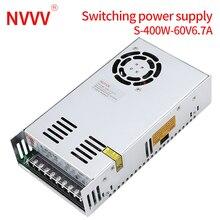 NVVV switching power supply 15 w-400 w ac110/220v dc 5v 12 v 24 v 36 v 48 v60 v dc power supply (400w60v6.7a for RD6006)