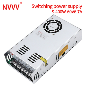 NVVV switching power supply 15 w-400 w ac110/220v dc 5v 12 v 24 36 48 v60 (400w60v6.7a for RD6006)