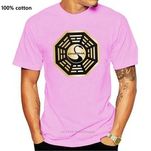 Dharma | lost | schwan | hanso foundation | fã | serie | S-3XL camiseta estampado t shirt homem curto novo 2018 engraçado