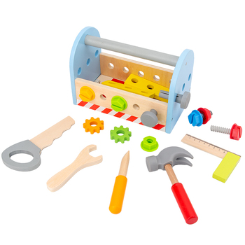 Montessori Material Sensory Toys Screw  Bolts Sets Educational Wooden for Children Juguetes A1046F