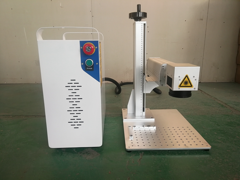 Good quality MOPA marking machine JPT 20W 30W M1 metal fiber laser marking machine benchtop marking machine for watch metal in Wood Routers from Tools