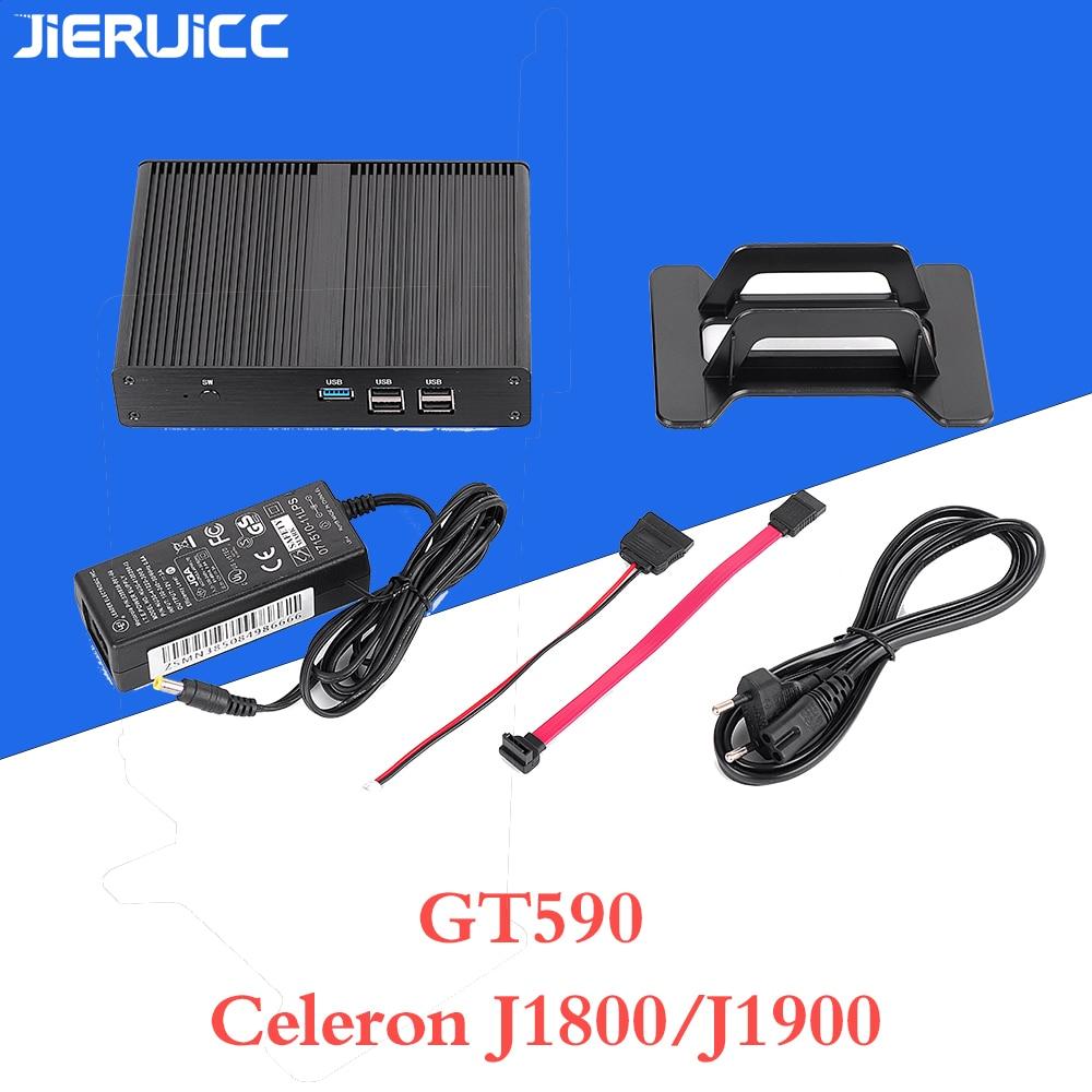 Mini Computer Intel Celeron J1800 J1900 Quad-core 2.0-2.41Ghz Fanless Design 7*24hours Working,dustproof,zero Noise
