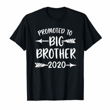 Promoted to Big Brother est 2020 Vintage Arrow T-Shirt S4087